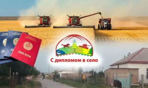 В Казахстане государственные служащие теперь могут принять участие в госпрограмме «С дипломом в село»