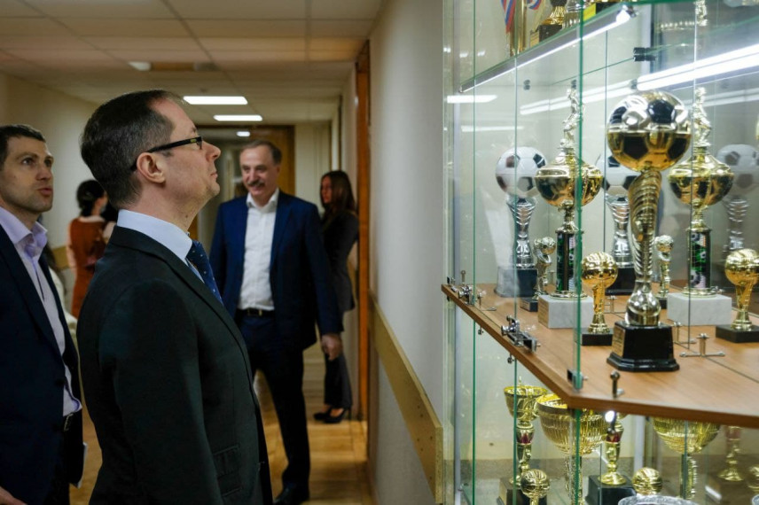 В Подмосковье реализуют спортивный проект для органов власти и предприятий региона