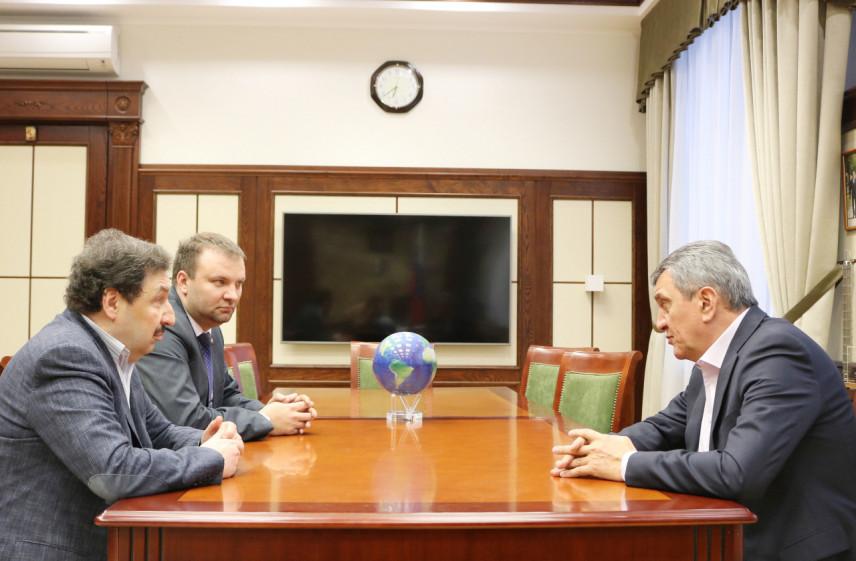 Полпред президента в СФО и ректор РАНХиГС обсудили подготовку управленческих кадров