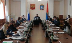 В Тамбовской области обсудили профилактику коррупции среди госслужащих