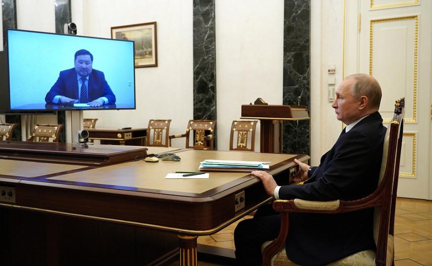 Президент России принял отставку главы Республики Тыва