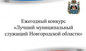 В Новгородской области продолжается конкурс «Лучший муниципальный служащий»