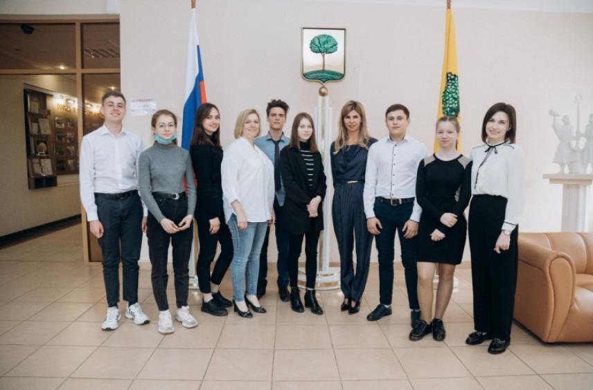 В Липецке прошел День молодежного самоуправления