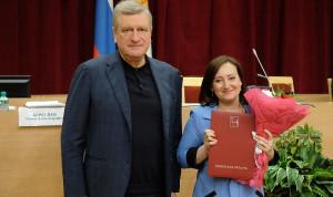 Муниципальных служащих Кировской области чествовали в правительстве региона