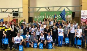 Госслужащие администрации губернатора Ленинградской области заняли 1 место по «ГТО»