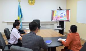 В Казахстане дети нарисовали госслужбу