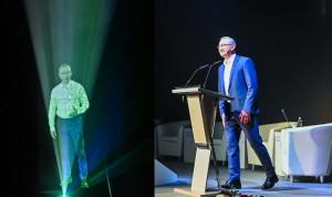 Участников форума «Цифровая эволюция» приветствовал виртуальный губернатор